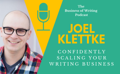 Joel Klettke Business of Writing Podcast
